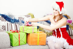 Christmas preparation Royalty Free Stock Images