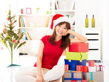 Christmas preparation Stock Photography