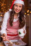 Christmas preparations Royalty Free Stock Photo