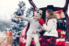 Christmas preparations royalty free stock images