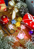 Christmas preparations. Still life on a Christmas theme Royalty Free Stock Photos