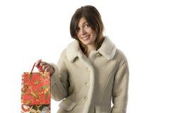 The christmas present Stock Image