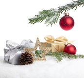 Christmas Present. Under a christmas tree Stock Images