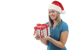 Christmas Present Royalty Free Stock Photography