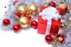 Christmas Present 2 Stock Photo
