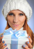 Christmas present 2 Royalty Free Stock Photo