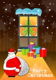 Christmas present  2008. New year Royalty Free Stock Images
