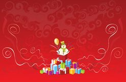 Christmas present  2008. New year Royalty Free Stock Image