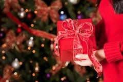 Christmas Present Royalty Free Stock Photos