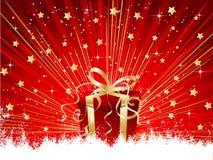 Christmas present Royalty Free Stock Image