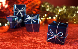 Christmas present Stock Photos