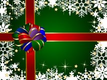 Christmas present background Royalty Free Stock Photography