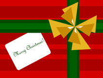 Christmas present background Royalty Free Stock Images