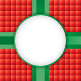 A Christmas Present Background with Copyspace Illustration Stock Image