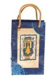 Christmas present bag Royalty Free Stock Photography