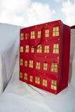 Christmas present bag -red Stock Photo