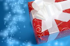 Christmas present box Royalty Free Stock Photography
