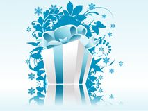 Christmas Present Box Royalty Free Stock Image