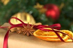 Christmas Present Decoration Stock Photos