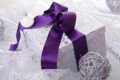 Christmas present decoration Stock Photo