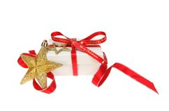 Christmas present decoration stock image