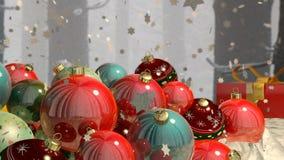 Christmas present Stock Photos