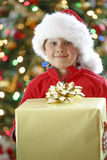 Christmas present Royalty Free Stock Image