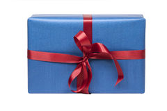 Christmas present isolated Royalty Free Stock Photo
