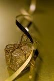 Christmas present and ribbon Stock Image