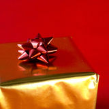 Christmas Present Ribbon Royalty Free Stock Image