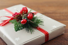 Christmas present Stock Photography