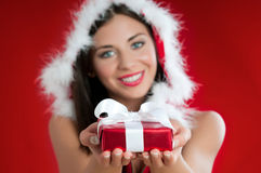 Christmas present for you Stock Image
