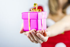 Christmas present for you Royalty Free Stock Image