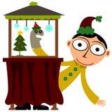 Christmas presentation Stock Image