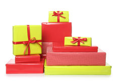 Christmas presents Royalty Free Stock Image
