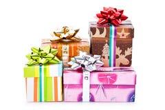 Christmas presents Stock Photography