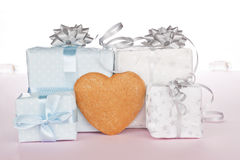 Christmas presents. Royalty Free Stock Image