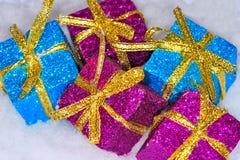 Free Christmas Presents Royalty Free Stock Photo - 22222275