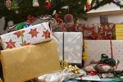 Christmas presents Stock Photos