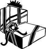 Christmas Presents. Santa Claus - Vector Image Stock Images