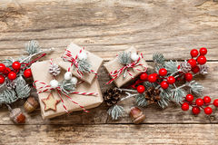 Free Christmas Presents Royalty Free Stock Photography - 62551307