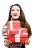 christmas presents Στοκ εικόνες με δικαίωμα ελεύθερης χρήσης