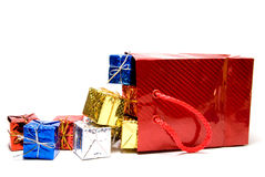 Christmas Presents Royalty Free Stock Photos