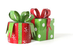 Christmas presents Stock Image