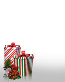Christmas presents background Royalty Free Stock Images