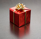 Christmas Presents with Bow Stock Photo