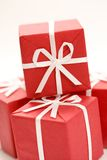 Christmas presents close-up Stock Photography