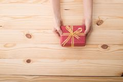 Christmas presents gift Royalty Free Stock Photo