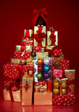 Christmas Presents and Gifts Royalty Free Stock Image