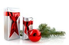 Christmas presents for men Stock Photos